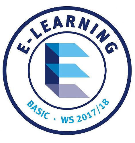 E-Learning-Label der Universität Paderborn